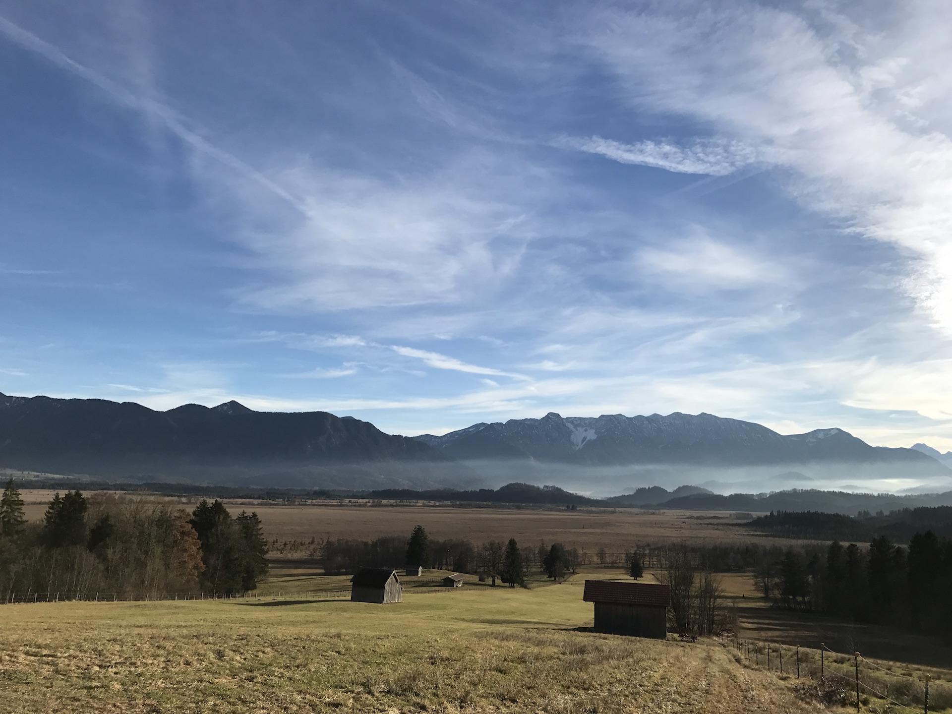 Murnau am Staffelsee – Auf der Suche nach den ersten Schneeflocken